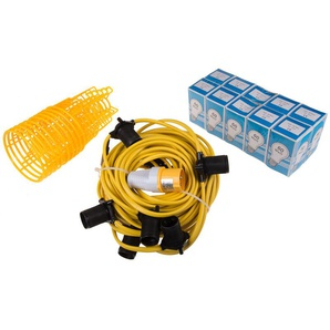 Lampe de travail, IP44, 60 W, 110 V c.a. - RS PRO