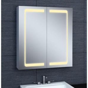 Armoire de toilette aluminium - Modèle JA 60 - 70 cm x 60 cm (HxL) - PRADEL