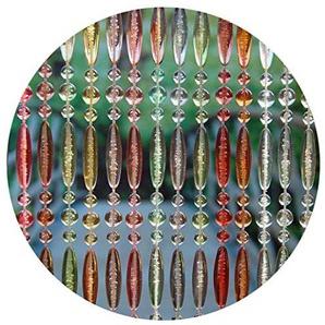 La Tenda Rideau de Porte en Perles Multicolores Stresa