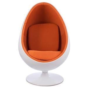 Fauteuil Egg ovale - Orange