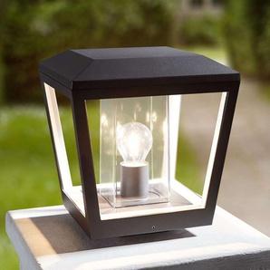 Lampe pour socle Dunia avec abat-jour transparent