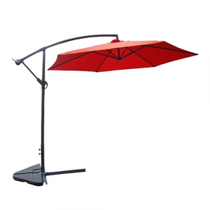 Porticcio terracotta : Parasol déporté Ø 300cm