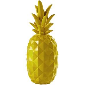 Ananas décoratif en résine jaune H 57 cm JANEIRO