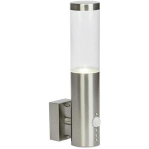 BERGEN-Applique dextérieur LED avec Détecteur H29,2cm Argenté Brilliant