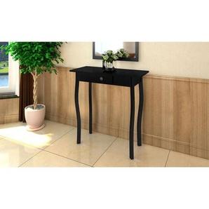 Table console MDF Noir