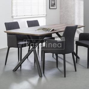Table à manger couleur bois TIAGO