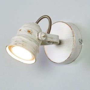 Spot LED Leonor blanc, avec ampoule GU10