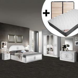 Solaya - Chambre Complète 160x200cm + Sommier AltoLattes + Matelas Bermudes