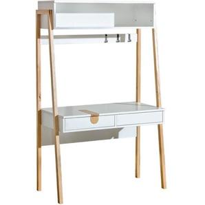 Bureau destiné à des personnes appréciant la fonctionnalité et le design scandinave - Blanc