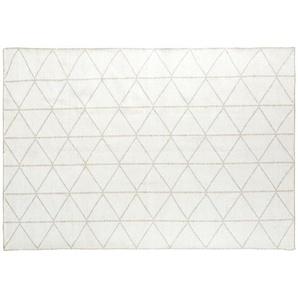 Tapis tissé motifs graphiques 140x200
