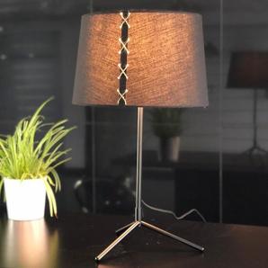 Grande Lampe à poser design noir - Mora