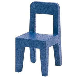 Magis Seggiolina Pop Chaise d'Enfant - bleu/PxHxP 30x55x33cm