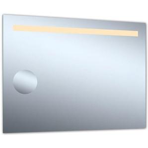 Miroir de salle de bains avec éclairage Led - Modèle Grossissant 80 - 60 cm x 80 cm (HxL) - PRADEL