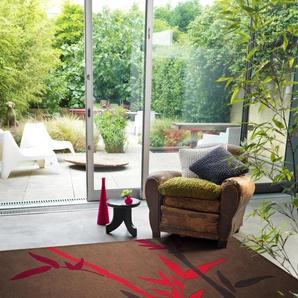 Tapis Harlequin Bamboo Marron 120x180 cm
