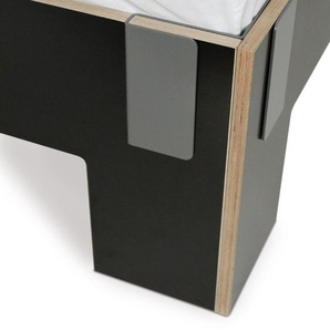 Moormann Lit Tagedieb - noir (FU) - 200 x 200 cm
