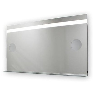 Miroir de salle de bains avec éclairage LED - Modèle Grossissant - 65 cm x 120 cm (HxL) - PRADEL