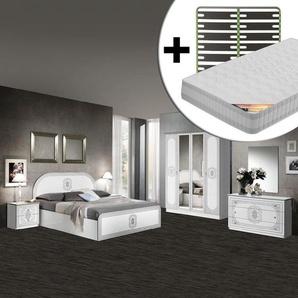 Solaya - Chambre Complète 160x200cm + Sommier AltoSenso + Matelas Tahiti - ALTOBUY