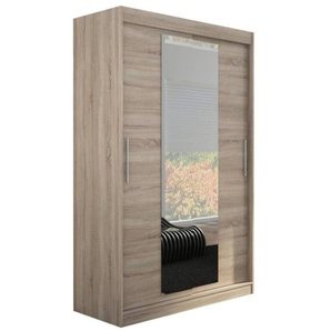 JUSTyou Iness Armoire Penderie 200x150x58 cm Truffe