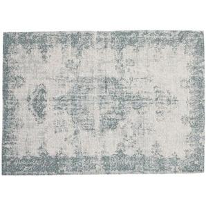 Tapis bleu 140 x 200 cm VILLANDRY