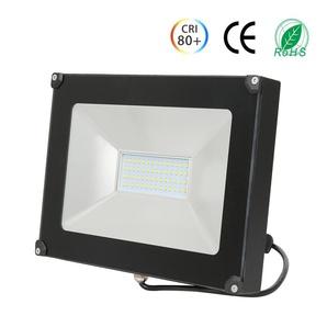 Anten 50W Projecteur LED Spot LED Étanche IP65 Lumière Extérieur et Intérieur 4000LM Blanc Froid 6000K Coque Noir