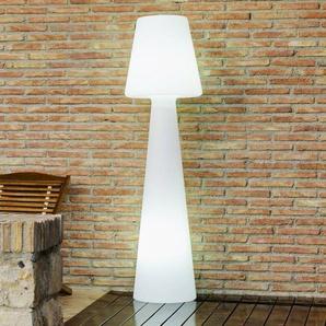 LOLA-Lampadaire dextérieur avec câble H110cm Blanc New Garden