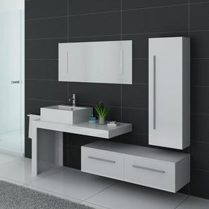 Meubles salle de bain DIS9250B blanc