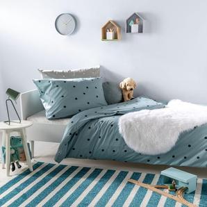 Tapis enfant Noa Kids Stripes Turquoise 140x200 cm - Tapis pour chambre denfants/bébé