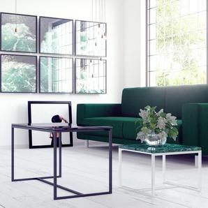 Table basse - NULL, 42, design scandinave, petite table pour salon élégante - 42 x 46 x 42 cm, personnalisable