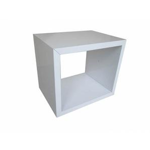 Chevet design blanc Bastian II - Blanc - DELADECO
