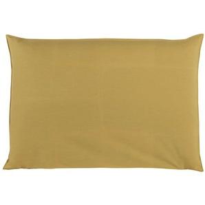 Housse de tête de lit 160 jaune moutarde Soft