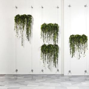 Urbanature Jardinière suspendue - 2 Tuyaux à plantes