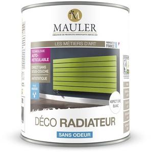 Peinture de rénovation et décoration des radiateurs, directe sans sous-couche : Mauler Déco Radiateur - RAL 7016 Gris anthracite - 2.5L