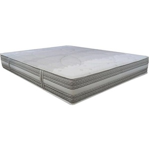 Matelas Essenzia SPRING 600 Ferme 80x210 STRETCH Ressorts - Blanc