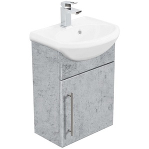Meuble salle de bain Primus Aspect Béton - EMOTION