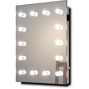 Miroir De Maquillage Hollywood, Lampes Led Blanches, Froides, Graduables K412Cw - Couleur LED : Ampoules LED blanches froides - DIAMOND X COLLECTION