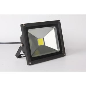 Auralum 30W Projecteur LED IP65 Spot LED 2500-3000LM Éclairage Extérieur et Intérieur Blanc Froid 6000-6500K Coque Noir