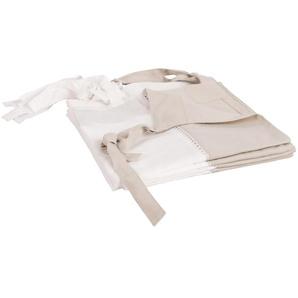 Rideau à illets en coton gris, à lunité, 105x250