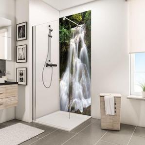 Panneau mural 90 x 210 cm, revêtement pour douche et salle de bains, DécoDesign PHOTO, Schulte, Cascade