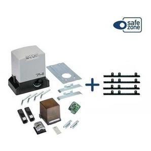 KIT DELTA3 FAAC complète coulissant 900KG 230V + 4M Crémaillère Nylon