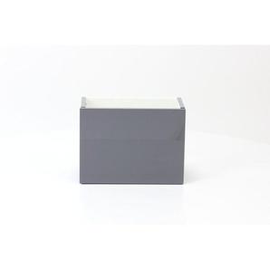 Royal Plaza Dee 2.0 Meuble sous lave-mains 36x18cm porte universel gris brillant 13486
