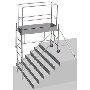 A. Echafaudage pour escalier: 3.8m haut. travail max - ECHAFAUDAGE DIRECT