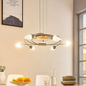 Suspension LED Deyan, dimmable, 6 lampes