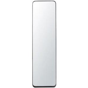 Miroir psyché en métal noir 41x151