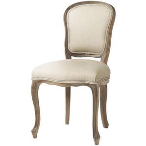 Chaise en lin coloris lin Versailles