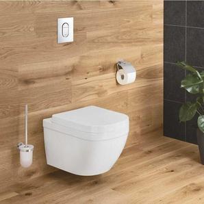 Grohe Euro Ceramic Cuvette WC suspendue, blanc alpin + abattant (39328000+39330001)
