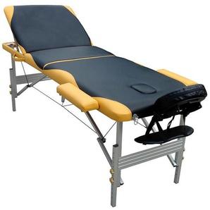 Table de massage lit aluminium 3 zones Liège mobile pliable - MUCOLA