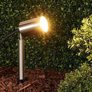 Eske - projecteur sur piquet GU10 en inox