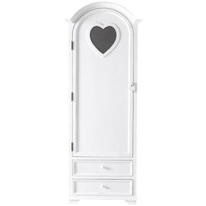 Armoire bonnetière blanche Valentine
