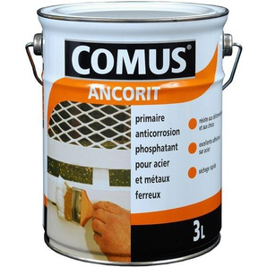 Comus - Peinture Primaire Antirouille phosphatant ANCORIT 0,75L Noir oxyde 900 - 12149