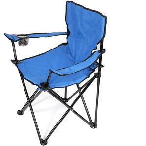 Table de camping Chaise de camping Chaise pliante Faltstuhl Regiestuhl Chaise de jardin Bleu - JEOBEST